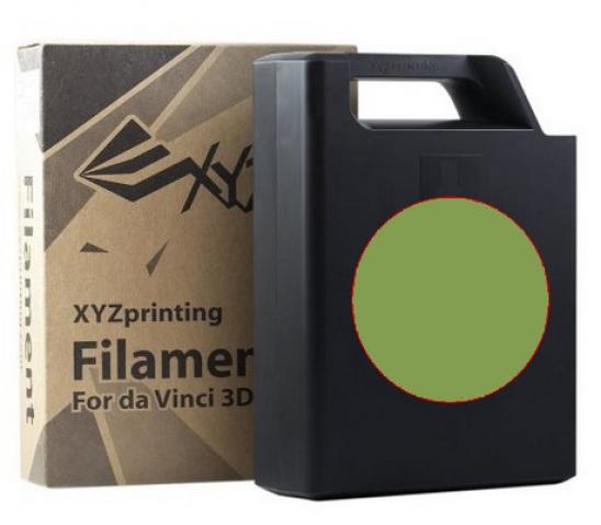 XYZprinting ABS Plastic Filament (olivine)