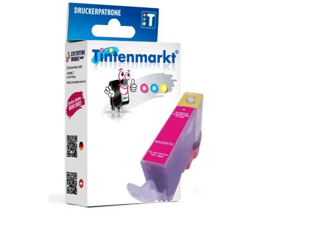 Druckerpatrone ersetzt Canon CLI-521M, kompatible Tintenpatrone mit ca. 12 ml Inhalt magenta
