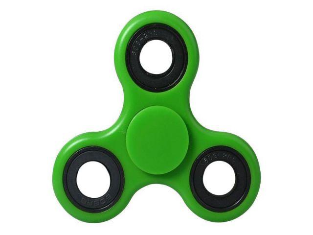 Fidget Spinner Toy, ca. 7cm Durchmesser, grün