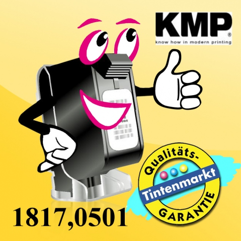 KMP Farbband für Fujitsu M 304X, Breite , Länge
