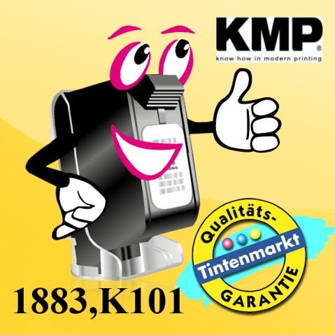 KMP Farbband für Genicom 3820, Breite , Länge