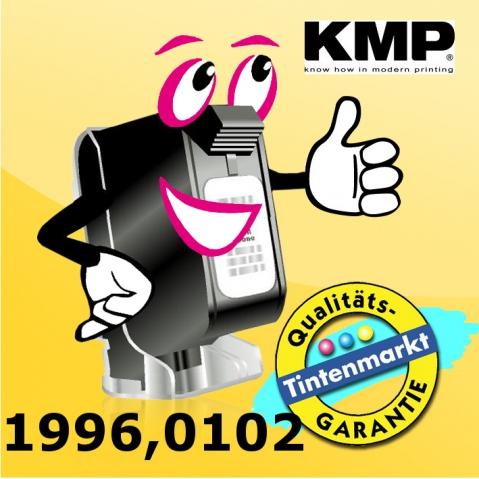 KMP Farbband, Material: Nylon in schwarz , rot