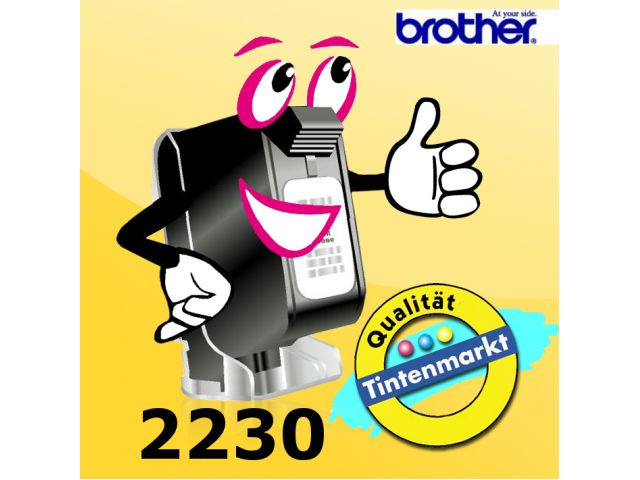 Doppelpack Carbon-Farbband 2230 Brother, Farbband(2) schwarz, Art.Nr. 2230