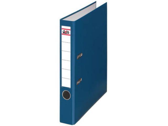 Dots Ordner 5, 0 cm breit mit blauen Seitenteilen und Rücken, mit Einsteck-Rückenschild,