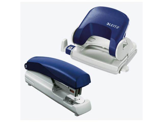 Büro Set mit Markenprodukten von LEITZ, Bürolocher Topstyle und LEITZ Standard-Heftgerät 5500 im