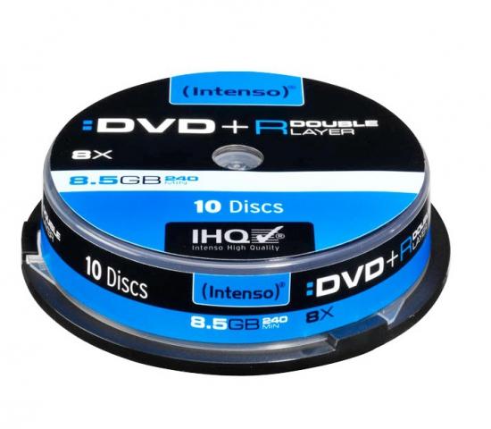 Platinum DVD+R 10 Stück Double Layer mit 8, 5 GB