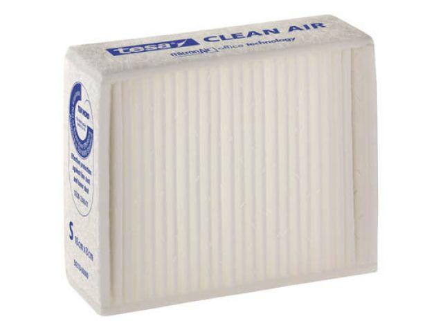 tesa Clean Air Feinstaubfilter Größe ''L'' für Laserdrucker, Fax- und Kopiergeräte