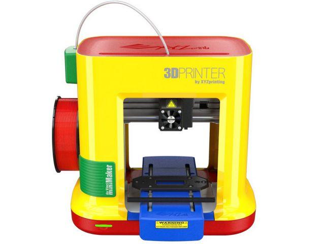 XYZprinting da Vinci mini Maker, ideal für Modellbau und Schulen, Single-Extruder mit PLA