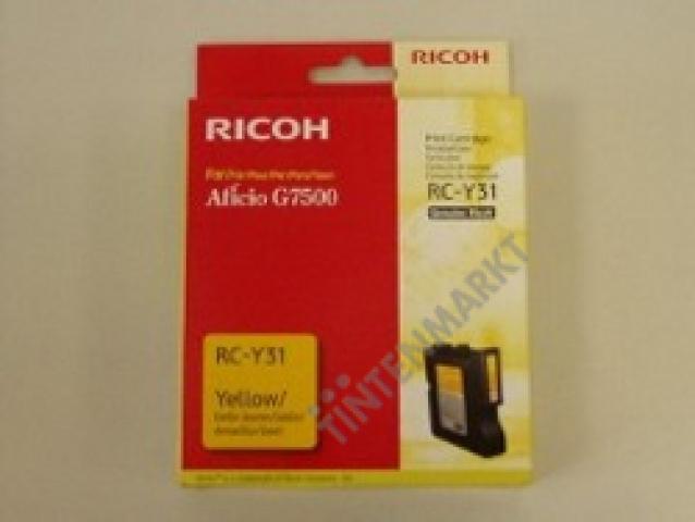 Ricoh Druckerpatrone 405503 original RC-Y31