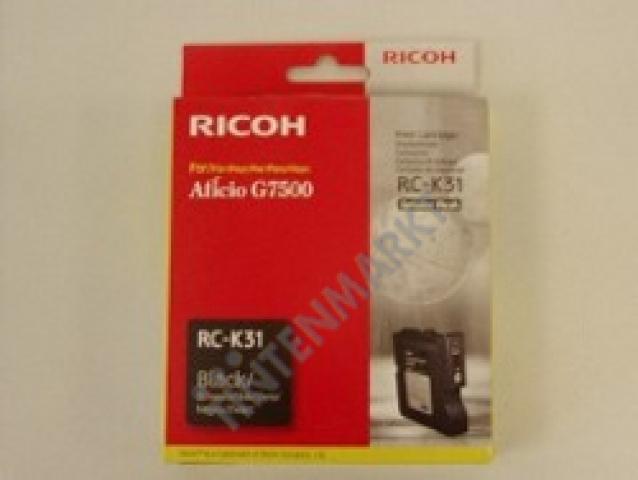 Ricoh Druckerpatrone 405506 original RC-K31