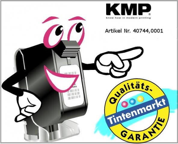 KMP Farbrolle für Epson IR 40, schwarz