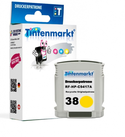 Tintenmarkt Druckerpatrone ersetzt HP C9417A,