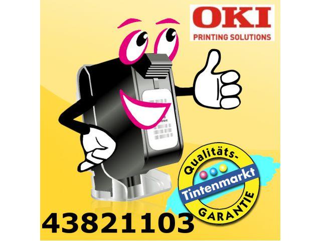 OKI Farbband 43821103 für OKI Microline 5100, schwarz