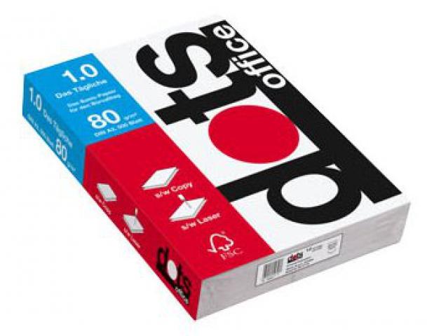 Whitelabel Universal-Papier dots office 1.0 DIN