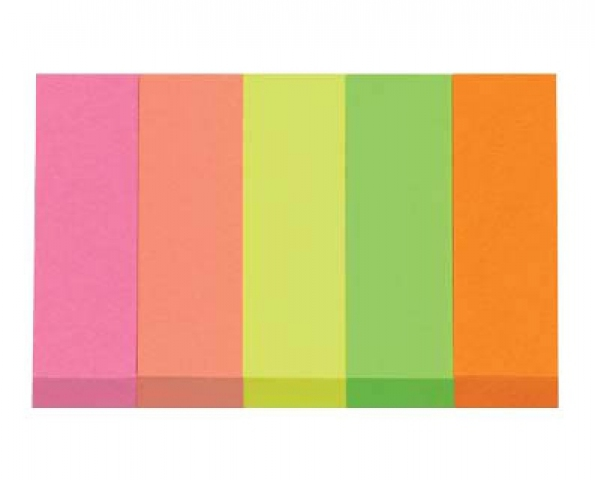 Whitelabel Post-it® Haftmarker neon 1,5 x 5,0