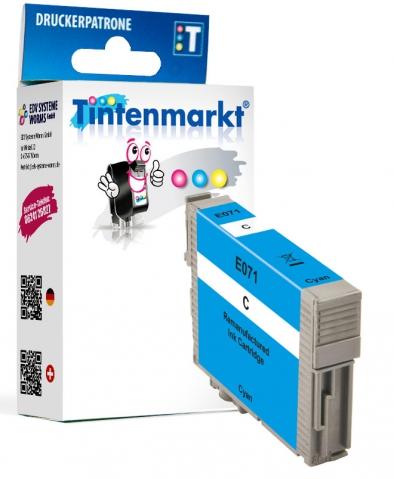 Tintenmarkt Druckerpatrone, ersetzt Epson T0712,