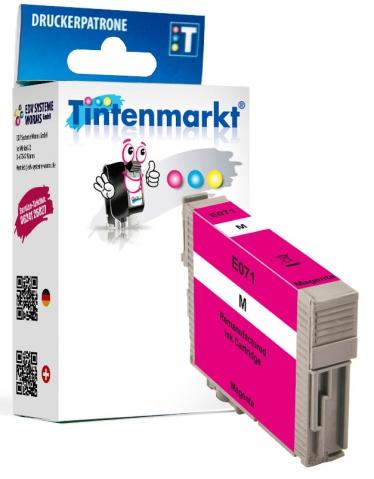 Tintenmarkt Druckerpatrone ersetzt Epson T0713,