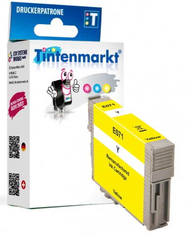 Tintenmarkt Druckerpatrone ersetzt Epson T0714,