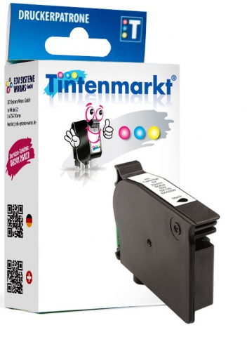 Tintenmarkt Druckerpatrone, ersetzt Epson T1281,