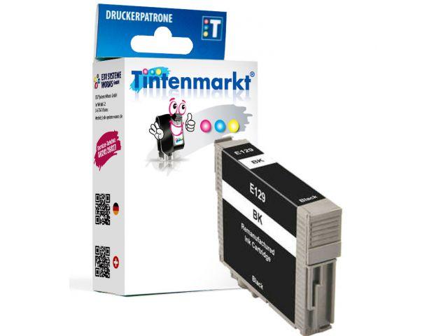 Druckerpatrone, ersetzt Epson T12914010, recycelte Tintenpatrone mit ca. 13 ml Inhalt, schwarz