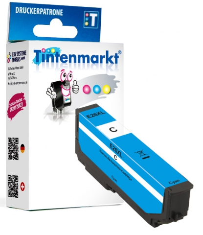 Tintenmarkt Druckerpatrone ersetzt Epson T2632