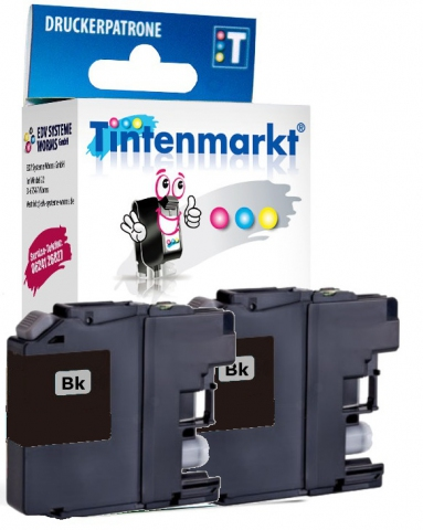 Tintenmarkt Druckerpatrone Doppelpack, ersetzt 2