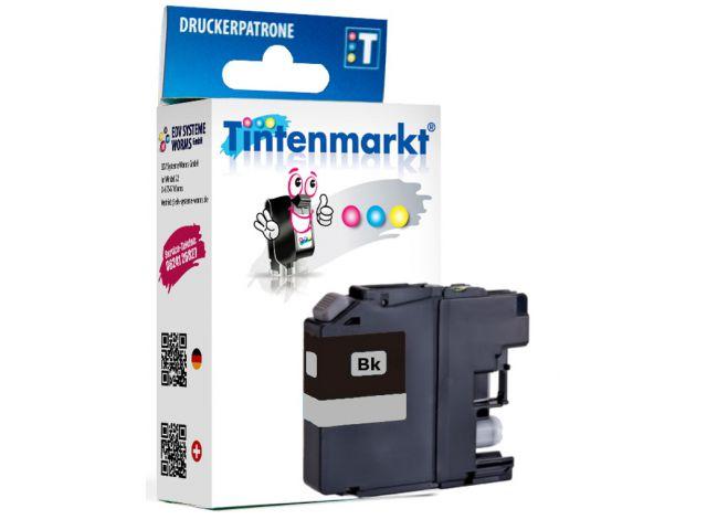 Druckerpatrone, ersetzt Brother LC-223BK, recycelte Tintenpatrone mit ca. 15 ml Inhalt, schwarz