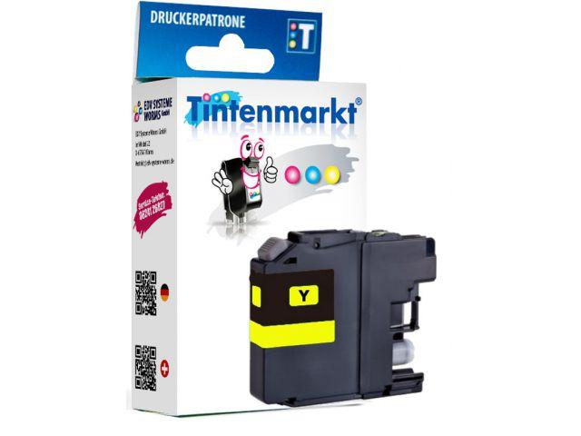 Druckerpatrone, ersetzt Brother LC-223Y, recycelte Patrone Tintenpatrone mit ca. 7,8 ml Inhalt,