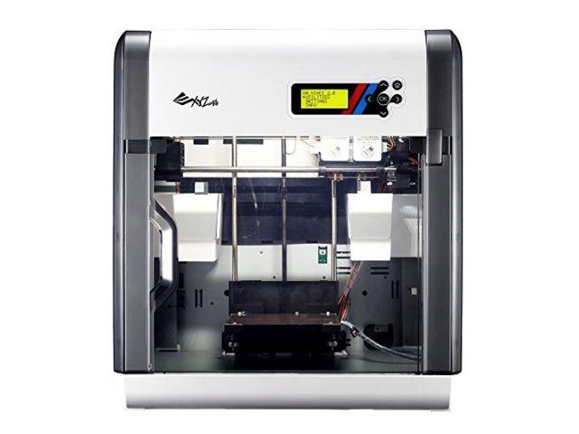 DA VINCI 2.0 3D PRINTER / 3D Drucker, mit 2 Extrudern, dadurch 2 farbige Objekte in einem