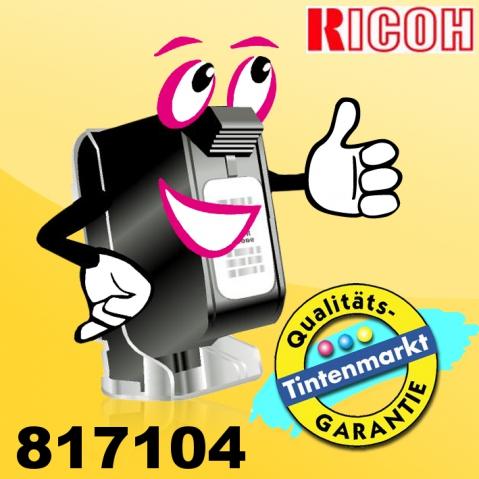 Ricoh 817104 Originaltinte mit 5 x 600 ml