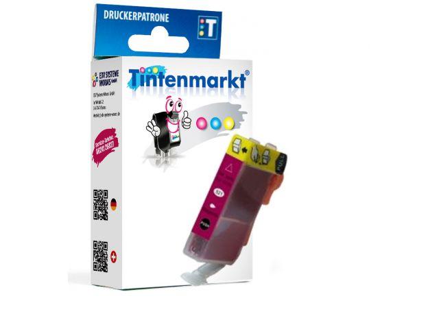 Druckerpatrone ersetzt Canon BCI-3eM, kompatible Tintenpatrone mit ca. 13 ml Inhalt magenta
