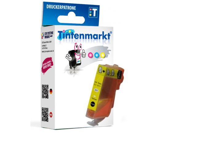Druckerpatrone ersetzt Canon BCI-3eY, kompatible Tintenpatrone mit ca. 13 ml Inhalt gelb