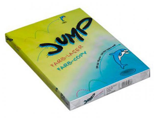 Whitelabel Farblaser-Papier JUMP DIN A4, 90 g ,
