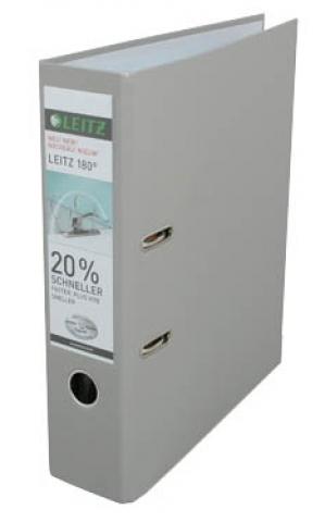 Leitz Ordner 8, 0 cm breit in grau mit
