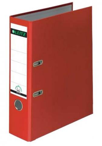 Leitz Ordner 8, 0cm breit in rot mit