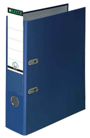 Leitz Ordner 8, 0cm breit in blau mit