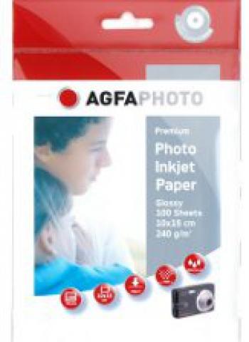 AGFAPHOTO Premium Fotopapier 10x15cm, 240 g ,