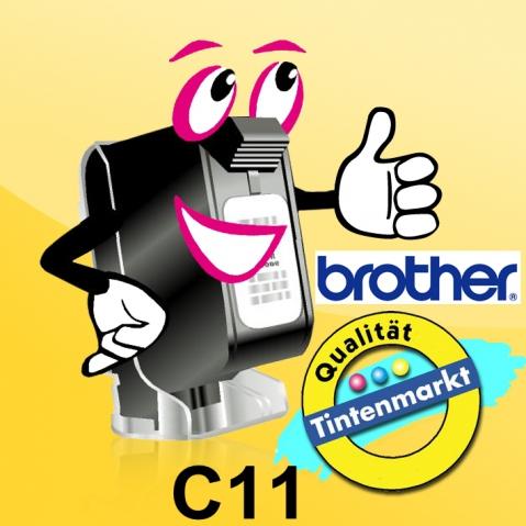 Brother Original Thermopapier C11, 50 Blatt A7