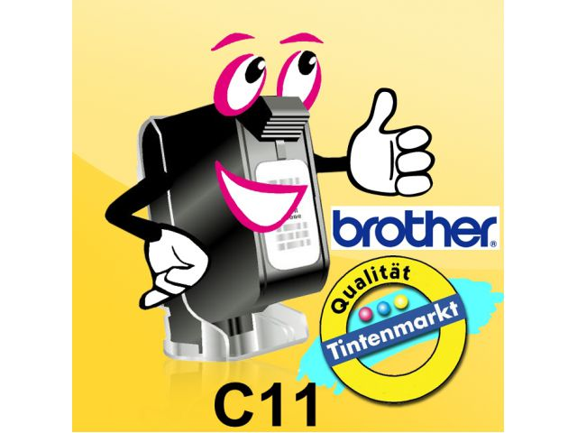 Original Brother Thermopapier C11, 50 Blatt A7 105x74mm