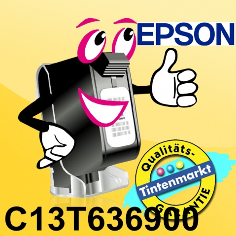 Epson C13T636900 Tintenpatrone original mit