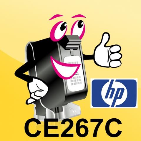 HP CE267C Toner HP für Laserjet M 4349 MFP,