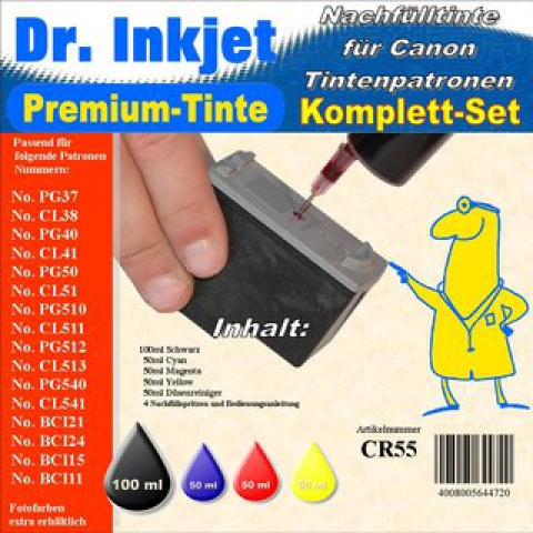 Whitelabel CR55 Dr. Inkjet Druckertinte für