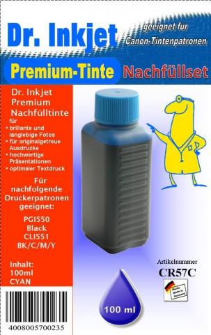 Whitelabel CR57C Dr. Inkjet Druckertinte f�r