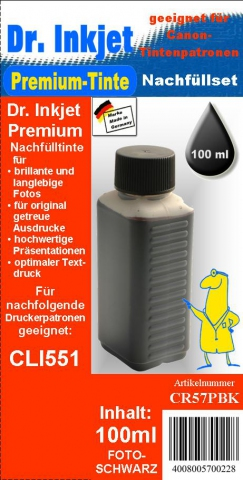 Whitelabel CR57PBK Dr. Inkjet Druckertinte für
