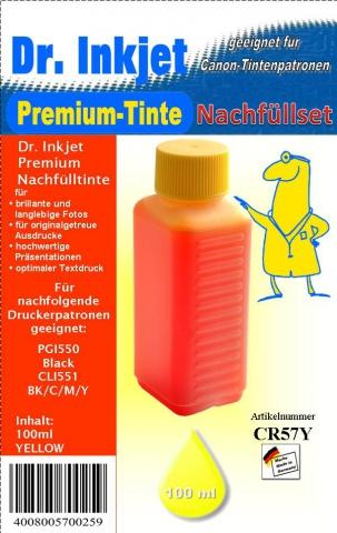 Whitelabel CR57Y Dr. Inkjet Druckertinte für