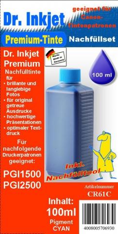 Whitelabel CR61C Dr. Inkjet Druckertinte für