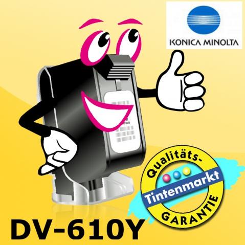 Konica Minolta DV-610Y original Entwickler für