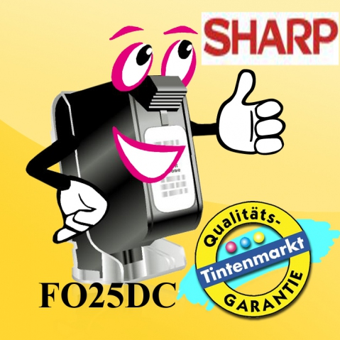 Sharp Toner -Kit, FO25DC, für ca. 3.000
