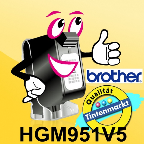 Brother HGM951 BROTHER P-TOUCH 24mm(5)SM-Bsilver