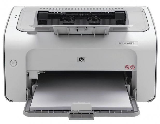 HP HP LaserJet P1102 schwaz , weiß Laserdrucker
